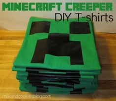 Easy and Inexpensive Minecraft Party Gift Bags - $5.15 per bag!