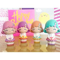 Kawaii contests, giveaways and designer toy news. Interviews with our designers and the stories behind the dolls. Momiji Doll, Collectible Toys, Cute Clay, Anime Dolls, Malu, Sculpture Clay, Clay Art, Doll Toys, Girl Birthday