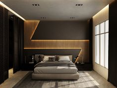 32 Fabulous Modern Minimalist Bedroom You Have To See - Everywhere you look you find things are being updated. The best way to start modernizing in your life is to have a modern bedroom. Bedroom False Ceiling Design, Bedroom Wall Designs, Wardrobe Design Bedroom, Master Bedroom Interior, Luxury Bedroom Design, Modern Master Bedroom, Bedroom Furniture Design, Master Bedroom Design, Bedroom Decor