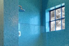 Bisazza Tile Shower, Los Angeles, 2009 - by Amaryllis Knight at Altai.