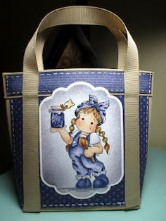 Cottage Creations: Tote Bag with Tilda!