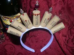 Wine Princess Cork Crown