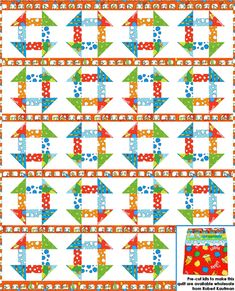 A cute free pattern from Robert Kaufman, one of QM's Preferred Fabric Partners