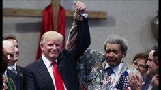 Don King, who introduced Donald Trump at an African-American outreach event, is being criticized for his unusual choice of words. According to reports, the boxing promoter used the N-word . Donald Trump, Stop And Frisk, The Enemy Within, Trump Train, Presidents, People, Black Church, News, Folk