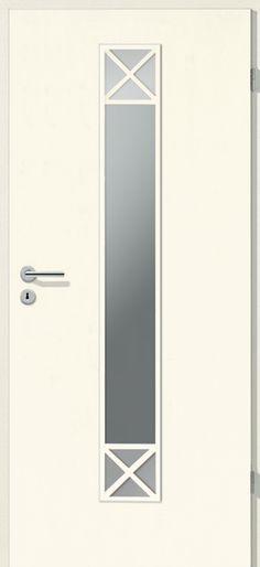 Porte intérieure contemporaine Westaline type 2505 Portes - pose de porte interieur