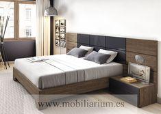 Dormitorios Modernos Lanmobel - Composición 29 Cabecero Brillo Bartok - Catálogo Muse - Mobiliarium