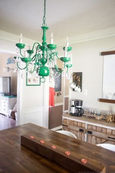 Bye bye brass diy stuff i want to conquer pinterest painted how to update an older chandelier aloadofball Choice Image