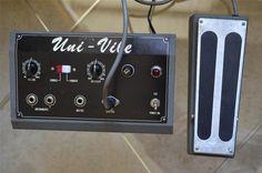Vintage Guitar Effects Pedal Chorus Vibrato Uni Vibe Hendrix