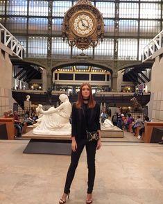 A magia do incrível relógio da antiga estação de trem, hoje o lindíssimo Musée d'Orsay. #gingertips