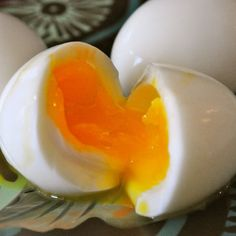 An easier substitute for poached eggs and a great snack