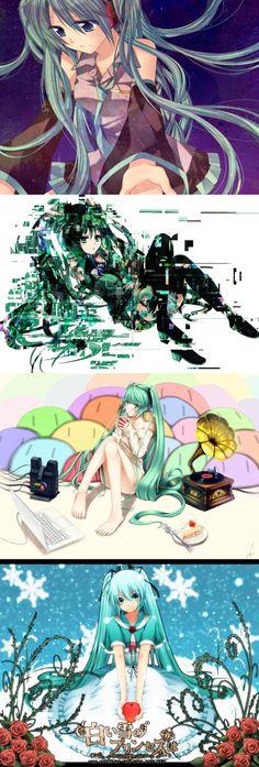 Hatsune Miku, coolll ANIME MIKU