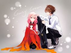 #Anime #Guilty_Crown #Inori_Yuzuriha #Shuu_Ouma