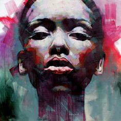 Woman 24 by Sarah Danes Jarrett 1700 x 1700 mm Oil on canvas 2014