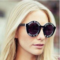 House of holland sunglasses women vintage round sunglasses Oversized Circle Sunglasses, Oversized Round Sunglasses, Uv400 Sunglasses, Round Frame Sunglasses, Heart Sunglasses, Cute Sunglasses, Sunglasses Accessories, Sunglasses Women, Sunnies