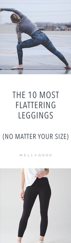 The Well+Good team tested out all the big brands for the most flattering gym leggings and these were the results. Gym Leggings, Workout Leggings, Workout Gear, Workout Outfits, Yoga Outfits, Workout Style, Yoga Workouts, Workout Clothing, Fitness Clothing