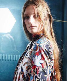 Backstage at @officialberardi #lfw #lfwss16 #darwincentre hair By @hershesons #antonioberardi #fashionbackstage @lorealprofuk make up by @thevalgarland @maccosmetics @premiermodels #premiermodels #maccosmetics #macbackstage #londonfashionweek #lfwss16 #lorealpro #bfc @britishfashioncouncil model @juliaflemingmodel