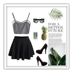 """Untitled #27"" by cilka-nedbalova on Polyvore featuring WithChic and Retrò"