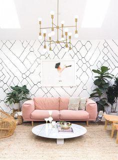 A Designer's Inspiring Light Home Office