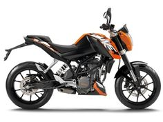KTM Duke: looks like a beast
