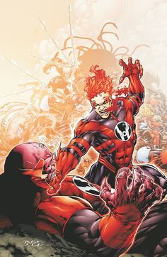 Red Lanterns - Ed Benes