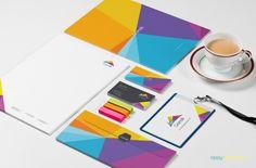 Stationery Branding PSD Mockups - 9 Mockups pack   Zippypixels