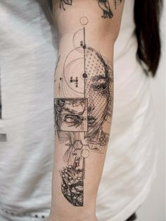 Etching Tattoo (Linework) - Highly Addictive and Endless Level of Details Etching Forearm Tattoo Design Ideas Forearm Band Tattoos For Men – Awesome Forearm Tattoo Tribal Forearm Tattoos For Men – Manly Ink…