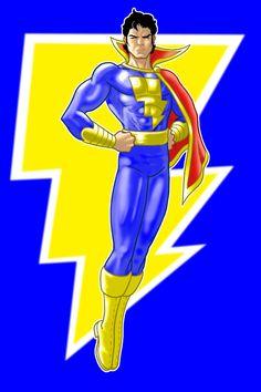 Captain Marvel Jr by Thuddleston on DeviantArt Captain Marvel Jr, Mary Marvel, Original Captain Marvel, Marvel Dc, Batman Comic Books, Batman Comics, Comic Books Art, Comic Art, The Other Marvel