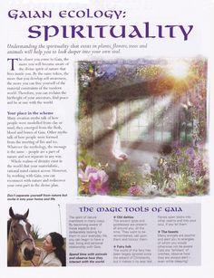 Gaian ecology Spirituality