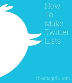 Get organized on social media by making Twitter lists so you can easily find the tweets you want to see. Includes a video tutorial.