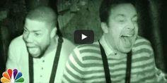 Jimmy Fallon and Kevin Hart Visit The Scariest Haunted House In New York And It's Hilarious!