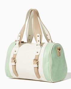 charming charlie   Zhuri Colorblock Satchel   UPC  410007128087   charmingcharlie Nylons, Satchel Handbags e9187c0b2d