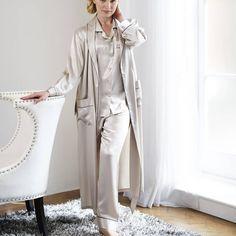 100% silk dressing gown by gingerlily ltd | notonthehighstreet.com