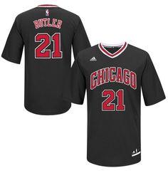 832885e9d Chicago Bulls 21 BUTLER T-shirt NBA BLACK Jersey Camisas De Futebol
