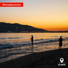 Even when you're catching your own dinner... one of Turkey's #EverydayLuxuries is the stunning sunsets that makes your day so special.