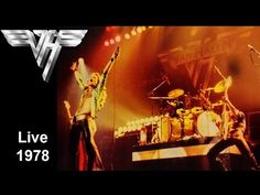VAN HALEN - Live Manchester The american hard rock band live at the time of the first album. Van Halen, Hard Rock, Rock Bands, Manchester, Album, Live, American, Concert, Metal