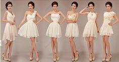 mint bridesmaid dresses cheap bridesmaid dress short by okbridal Champagne Bridesmaid Dresses, Bridesmaid Dresses Online, Cheap Prom Dresses, Wedding Bridesmaids, Wedding Dresses, Short Dresses, Chiffon Dresses, Dress Prom, Peach Dresses