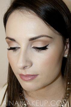Primera prueba del maquillaje de novia