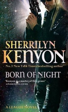 Born of Night by Sherrilyn Kenyon. This is the first book in The League. This was a four star book. This was between Kiara and Nykyrian. (There are some weird names in that one) This book was really good!