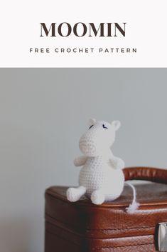 Moomin troll crochet pattern – Moroshky – crochet and crafts Crochet Patterns Amigurumi, Amigurumi Doll, Crochet Toys, Knitting Patterns, Knit Crochet, Yarn Projects, Knitting Projects, Crochet Projects, Moomin