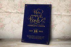 Bridal Shower Invitation  Printable Bridal Shower by plpapers
