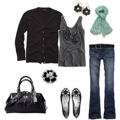 Especially love the embellished top! Created by jmels, Polyvore