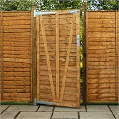 and fittings inc hinges: deliv.Adley x Lap Garden Gate - Garden Gates - Fencing Wooden Garden Gate, Garden Gates And Fencing, Garden Fence Panels, Wooden Gates, Corner Log Cabins, Insulated Garden Room, Wooden Workshops, Shed Sizes, Plastic Sheds