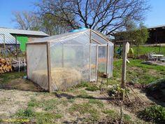 Mon Jardin en Moselle - agrandissement de l'abri à tomate - fait plus de 7m²