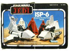 1983 Kenner Star Wars Return Of The Jedi Imperial Shuttle Vehicle Sealed Star Wars Toys, Star Wars Art, Retro Toys, Vintage Toys, Childhood Toys, Childhood Memories, Figuras Star Wars, Nave Star Wars, Starwars