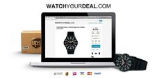 Dagelijk een exclusieve horloge aanbieding! http://www.watchyourdeal.com