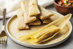 Homemade tamales are one of the best Mexican comfort foods. Make your own with this dough recipe that begins with masa harina (commercial corn flour). Masa Recipes, Snack Recipes, Cooking Recipes, Healthy Recipes, Cooking Tips, Freezer Recipes, Freezer Cooking, Pork Recipes, Drink Recipes