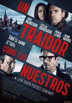 Un traidor como los nuestros. Estreno 18 de noviembre en CineZona. CC Zona Este. Cines en Sevilla