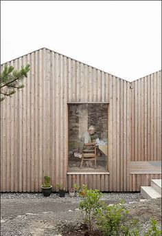 board and batten House Cladding, Timber Cladding, Exterior Cladding, Building Design, Building A House, Rural House, Modern Barn, Architect Design, Architecture Details