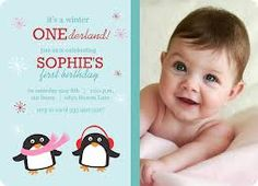 winter themed first birthday - Google Search