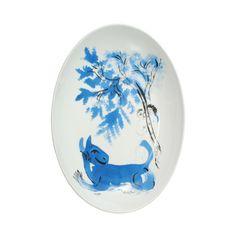 Chagall Platter by Bernardaud